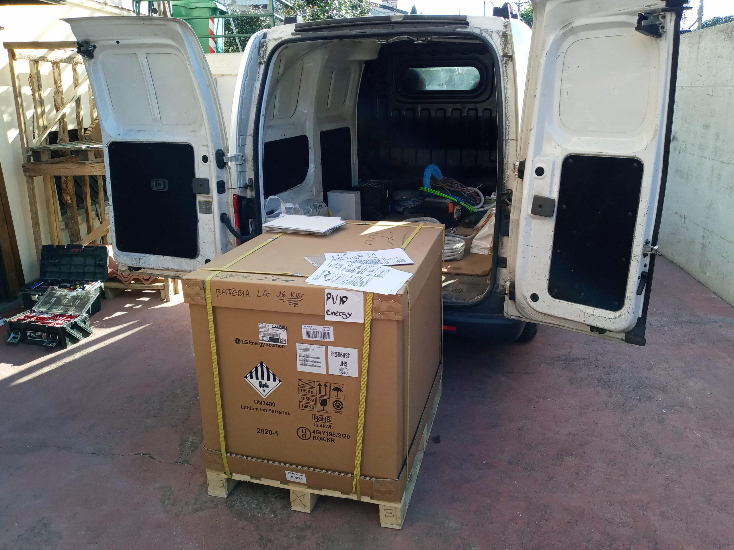 LG Energy Solution Installazione di RESU 16H Prime