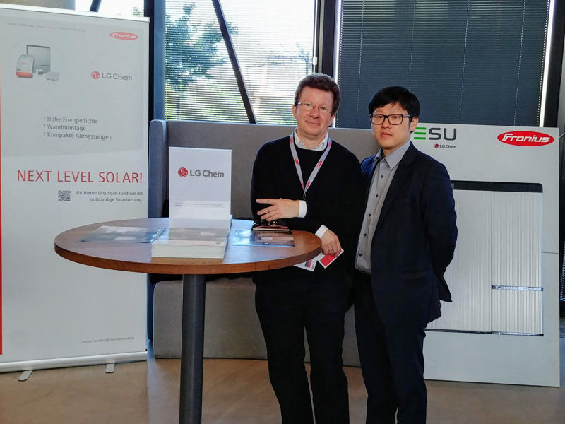 LG Energy Solution @ Fronius Partner Event 2019