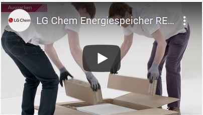 Video Tutorial - LG Chem RESU3.3 RESU6.5 RESU10 Installation